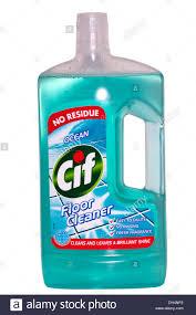 plastic bottle of cif floor cleaner stock photo royalty free
