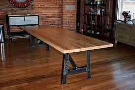butcher block kitchen table butcher block dining room tables best with photo of butcher block