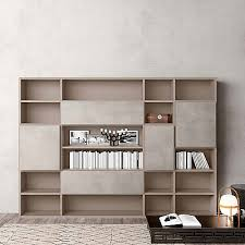 Elegant Bookcases Luxury Bookcase Wall Unit U0027book 2 U0027 Minimalist Design Elegant And