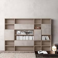 Modloft Pearl Bookcase Luxury Bookcase Wall Unit U0027book 2 U0027 Minimalist Design Elegant And