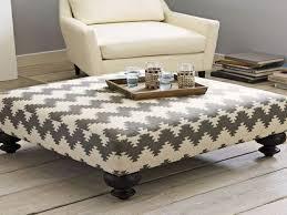 Upholster Ottoman Best 25 Upholstered Ottoman Coffee Table Ideas On Pinterest