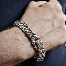 chain link bracelet silver images 15mm silver cuban link bracelet jpg