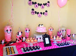minnie mouse babyshower candy buffet by sweet tooth buffets www