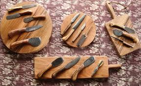 Best Home Kitchen Knives Forged Kitchen Knives Kurouchi Sujihiki Knives Watanabe Blade