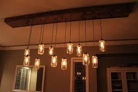 Country Dining Room Light Fixtures - Dining room light