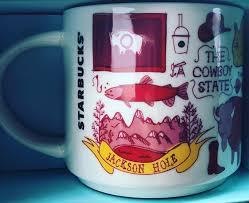 Wyoming Travel Coffee Mugs images Been there wyoming starbucks mugs jpg