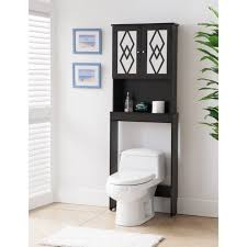 Over The Toilet Etagere Bathroom Cabinets Over Toilet Palfcl Bathroom Bathroom With Black