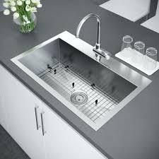 30 Inch Drop In Kitchen Sink Drop In Single Bowl Kitchen Sink Spiritofsalford Info