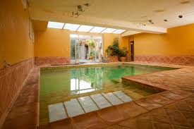 a house with two pools in provence the basement has an indoor