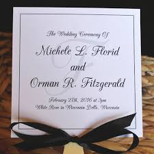 wedding fan program black and white wedding fan program citrine designs