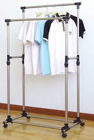 Commercial Clothing Racks For Sale Amazon Com Prosource Premium Heavy Duty Double Rail Adjustable