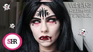 halloween vampire makeup sophie hannah richardson youtube