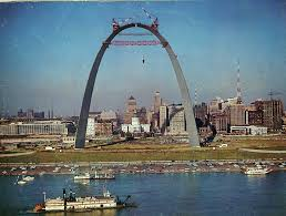 Gateway Arch Tbt The Controversial And Remarkable Building Of St Louis
