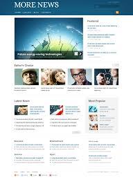 website design 42198 more news portal custom website design more