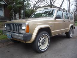 jeep amc logo curbside classic 1984 jeep cherokee u2013 amc u0027s greatest hit thanks
