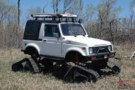 suzuki jeep 2014 samurai snowcat jeep rockcrawler 4x4 lifted tracks