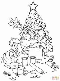 christmas christmas tree coloring boy decortable