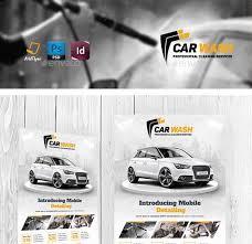 20 cool automotive flyer templatescar wash flyer template car