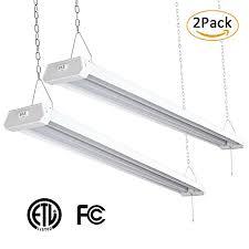 linkable led shop lights brizled linkable led shop lights 4ft 42w etl certified shop lights