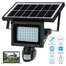 motion light security camera 720p hd solar ip camera cctv security camera dvr recorder pir motion