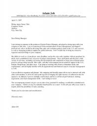 cover letter for junior project manager cover letter templates