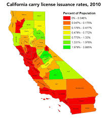 Ca Counties Map California Needs The Right To Carry U2014now U2013 Doctors For Responsible