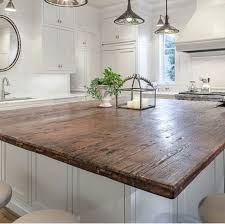 Diy Wood Kitchen Countertops Reclaimed Wood Kitchen Countertops Stupendous Reclaimed Wood