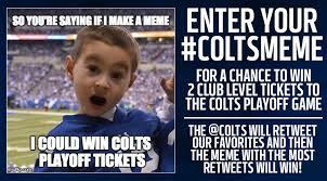 Indianapolis Colts Memes - indianapolis colts football coltscaseyb