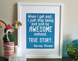 barney stinson quote etsy