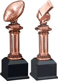 Trophy Pedestal Gameball Trophies Football Trophies Plaques Medals