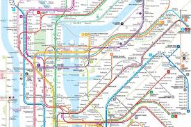 Map Of Hamptons New York by This New Nyc Subway Map May Be The Clearest One Yet Curbed Ny
