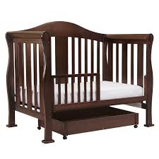 Convertible Crib Reviews by Davinci Parker 4 In 1 Convertible Crib In Coffee K5101f Free Shipping