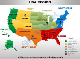 pacific region map usa pacific region country powerpoint maps powerpoint