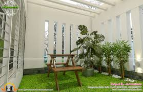 kerala home designs with courtyard house design plans