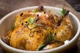 cuisiner un poulet plat gourmand poulet fermier rôti aux fines herbes