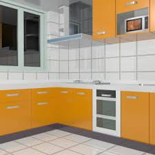 Download LShape Modular Kitchen Cabinets D Model Available In - Models of kitchen cabinets