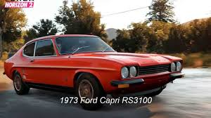 Ford Capri 1971 Forza Horizon 2 Week 5 Cars Mclaren F1 Ford Capri Bowler Exr