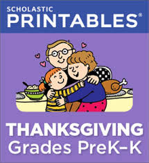 www scholastic thanksgiving pictures to pin on