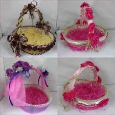 wedding gift decoration decorated baskets for weddings wedding corners
