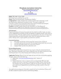 resume exles for media internships journalist resume sle journalism student template curriculum