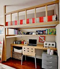Bunk Bed With Study Table Room Loft Bed With Study Desk Underneath My Home