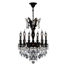 versailles chandelier worldwide lighting versailles 6 light flemish brass chandelier