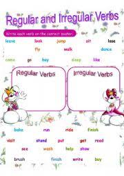 copy of regular and irregular verbs lessons tes teach