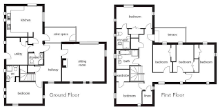 build floor plans a modern efficient self build on a stunning site homebuilding