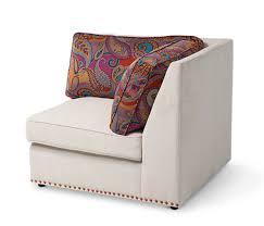 Aico Sofa 4 574 00 Studio Sacramento Sectional Sofa By Michael Amini 6pc