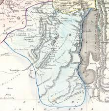 Ord Map File Judah 1852 Philip Map Of Palestine Israel Holy Land