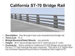 Handrail Height Code California See Through U201d Bridge Rails Ppt Video Online Download