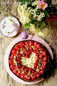 cuisine aux fraises tarte aux fraises frangipane fleurs de sureau 1 pour le mmm n