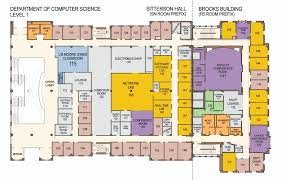 floor plan floor plans for sitterson building computer science