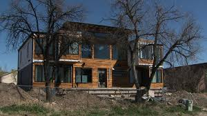 photos tour couple u0027s colorado dream home made of shipping